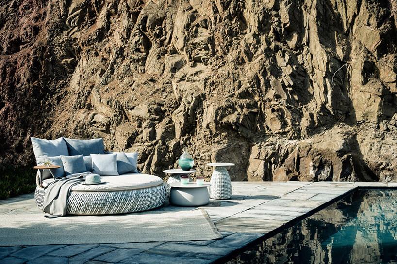 meble ogrodowe skała