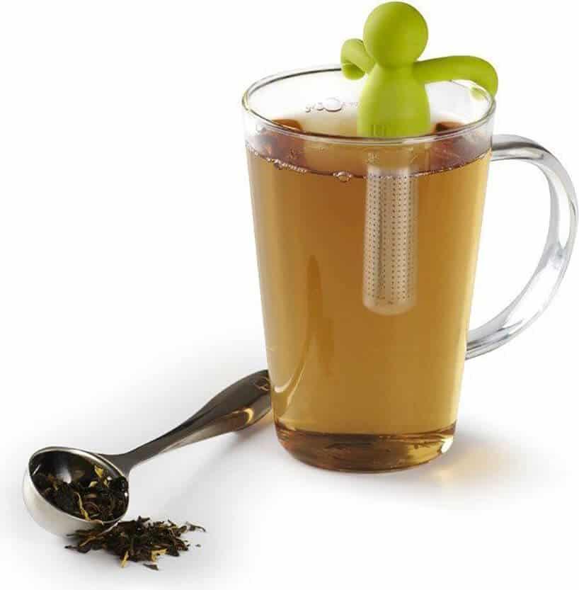 zaparzacz do herbaty wkształcie ludzika do kubka