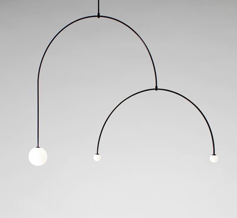 minimalistyczny lampa Mobile Chandelier 9