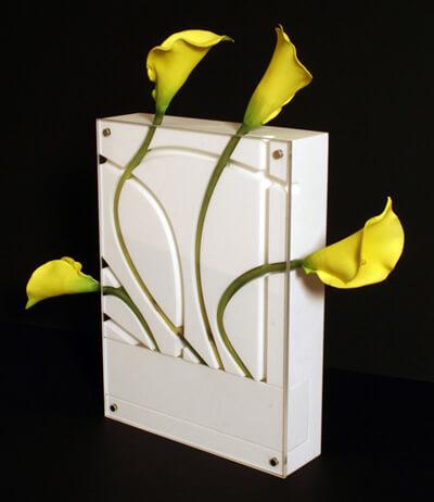 pudełko zkwiatami