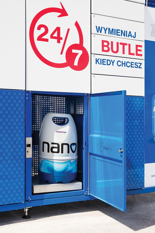 dystrybutor butli gazowych AmeriGas Polska