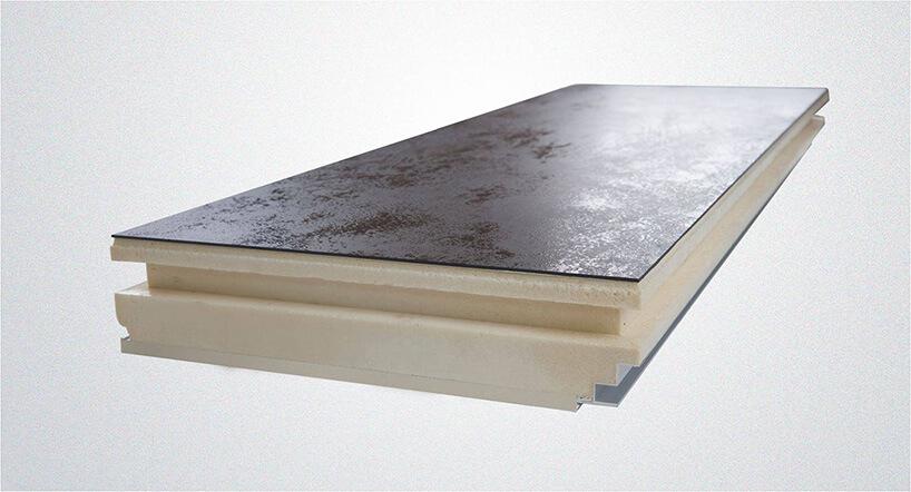 brązowy panel elewacyjny