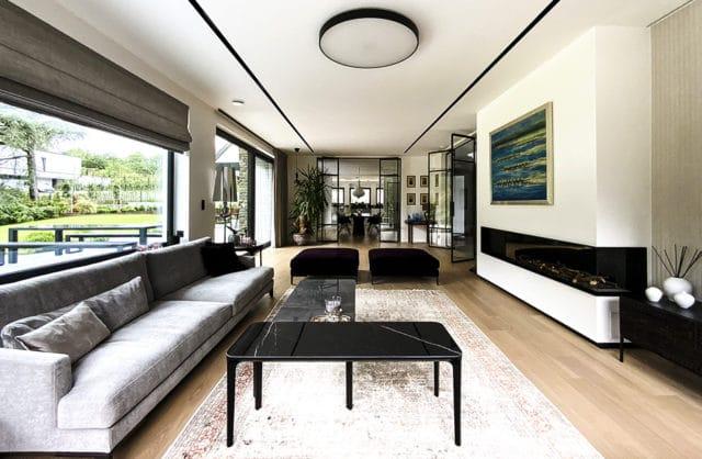 Dom jednorodzinny w Belgii inspirowany stylem bauhaus
