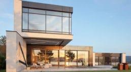 taras nowoczesnego domu