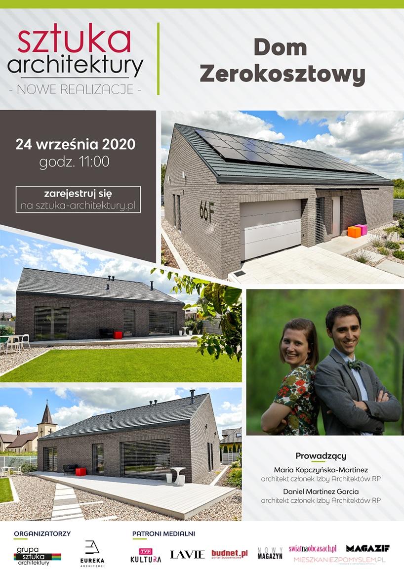 projekt dom zerokosztowy