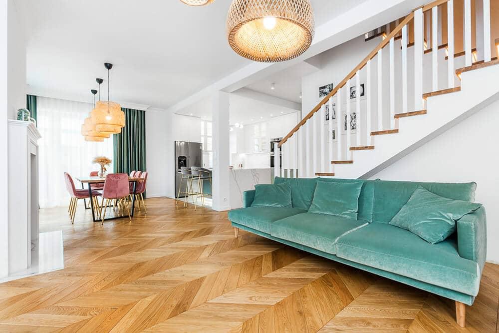 Domowa przystań wstylu Art Deco