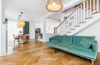 Domowa przystań w stylu Art Deco