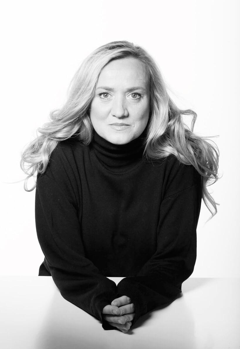 czarno-białe zdjęcie projektantki Doroty Koziary