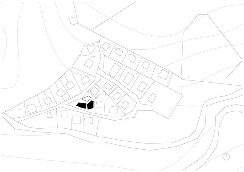 plan zagospodarowania działek wokół
