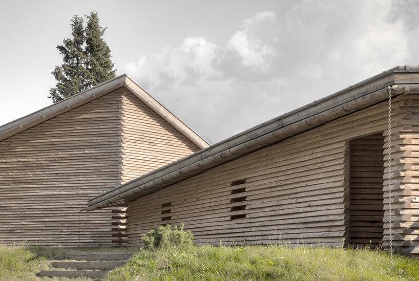 domek gościnny wramach tyrolskiej posiadłości