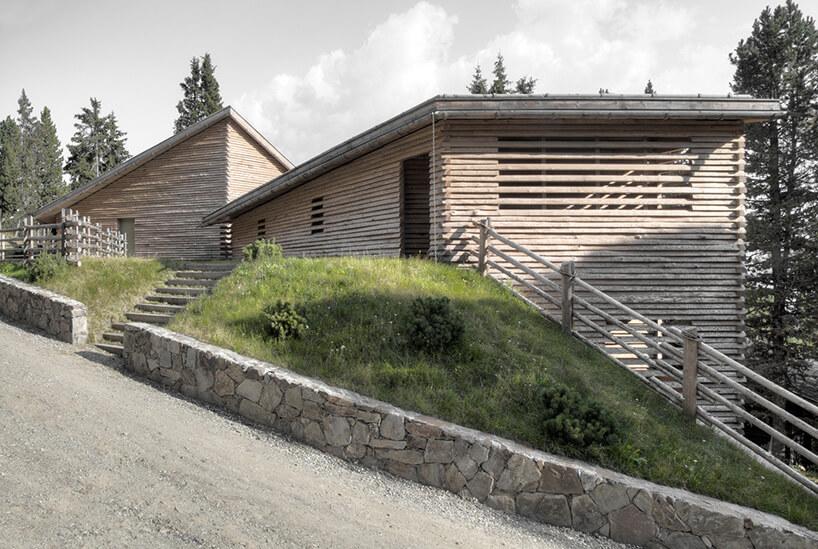 podjazd do tyrolskiej chaty