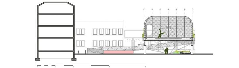 plan podwórka