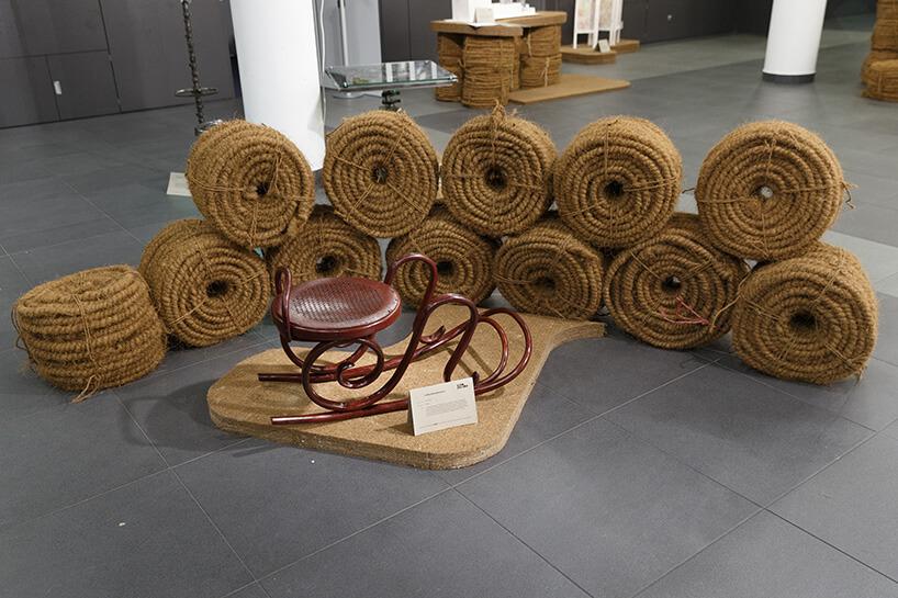 siedziska ze starej liny