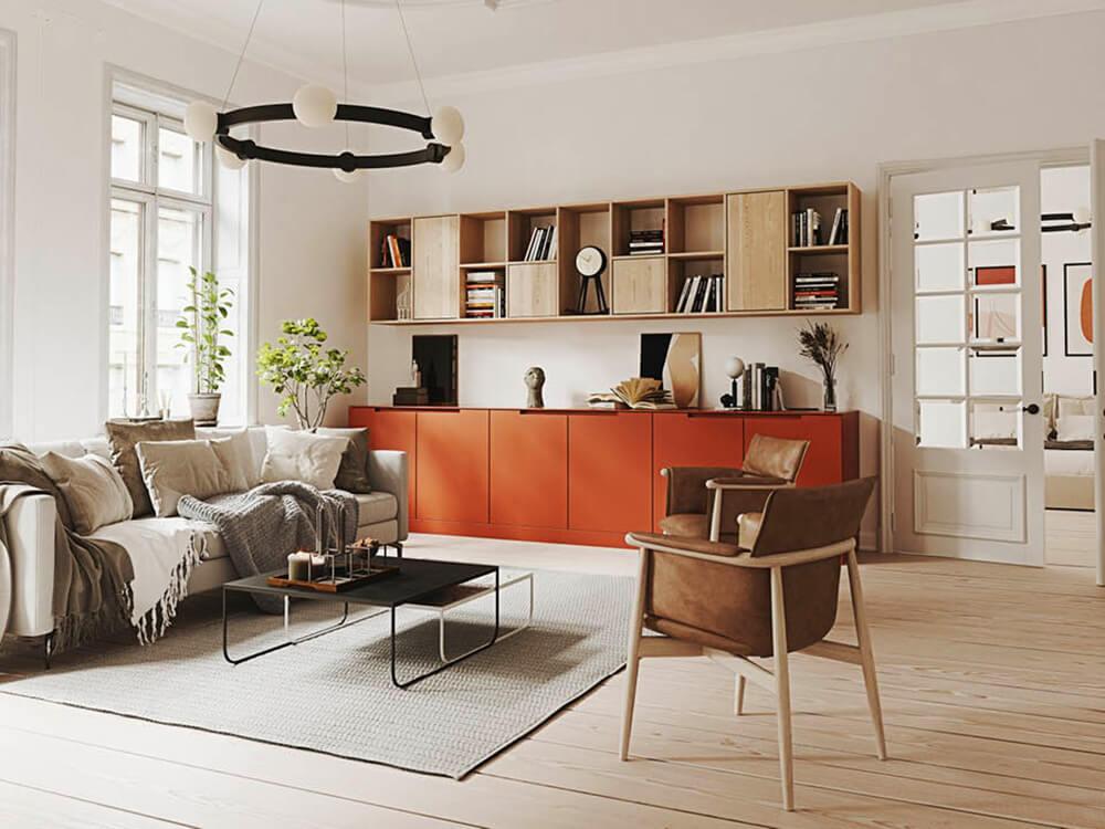 Eklektyczne wnętrze – jak stworzyć wyrafinowaną aranżację łączącą różne style?
