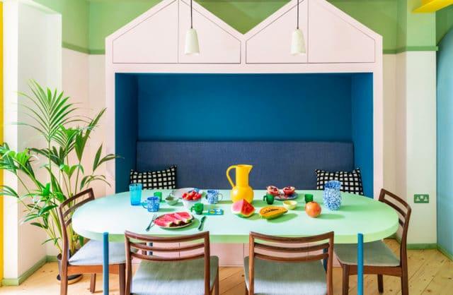 Ekonomia cyrkularna w kolorze: mieszkanie w Londynie