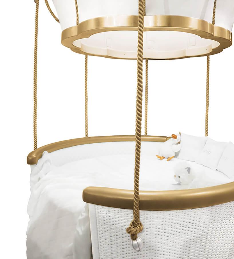 łóżko dla dziecka wbalonie