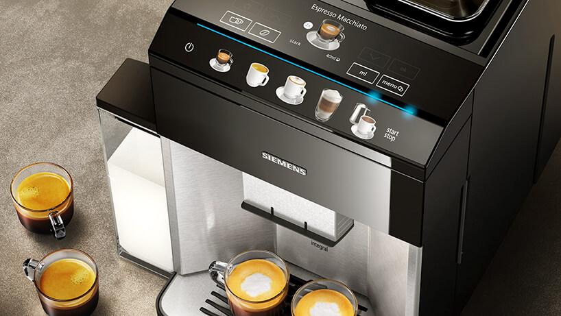 panel sterowania ekspresu ciśnieniowego do kawy Siemens serii EQ.500