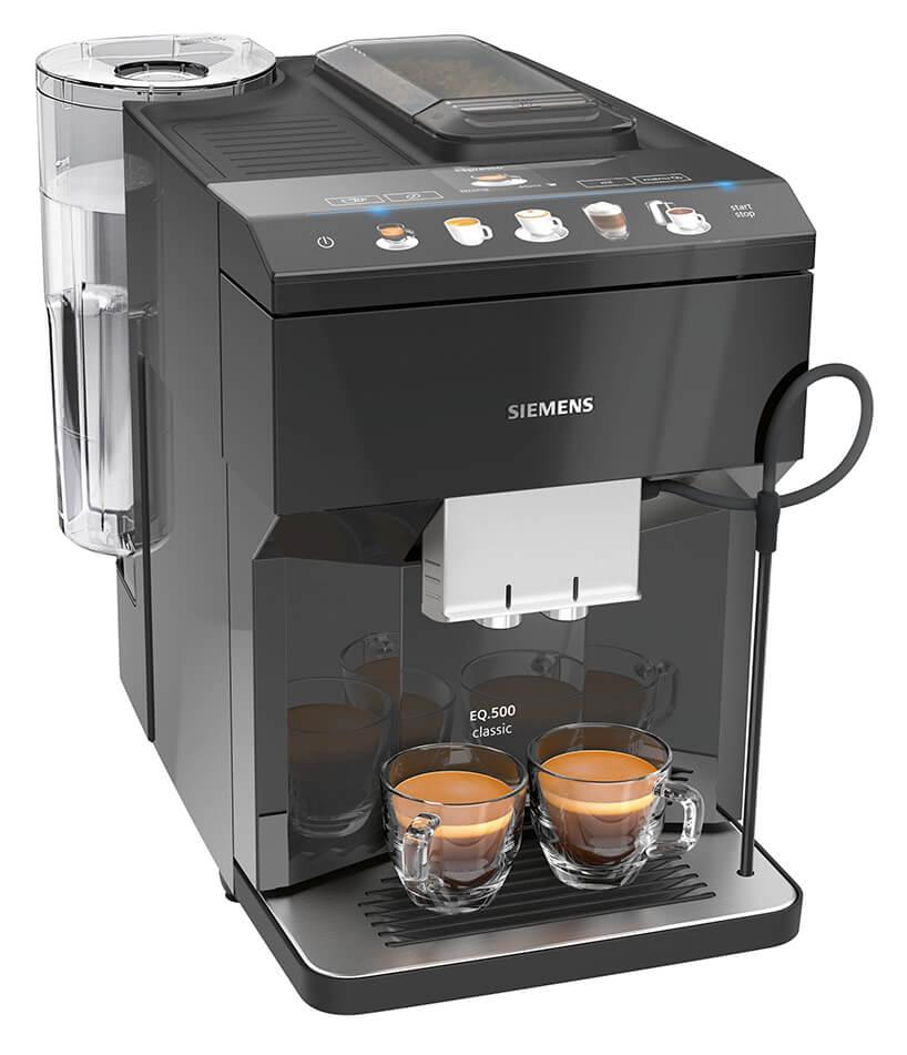 ekspres ciśnieniowe do kawy Siemens EQ.500