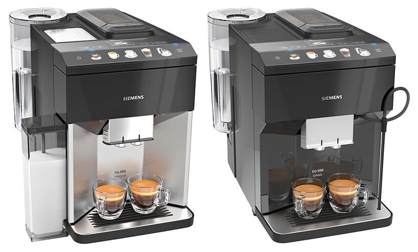 zestawienie ekspresów ciśnieniowych do kawy Siemens EQ.500