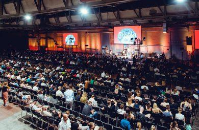 Element Talks 2019 European Design Festival 2019 scena i widownia podczas trwania wydarzenia