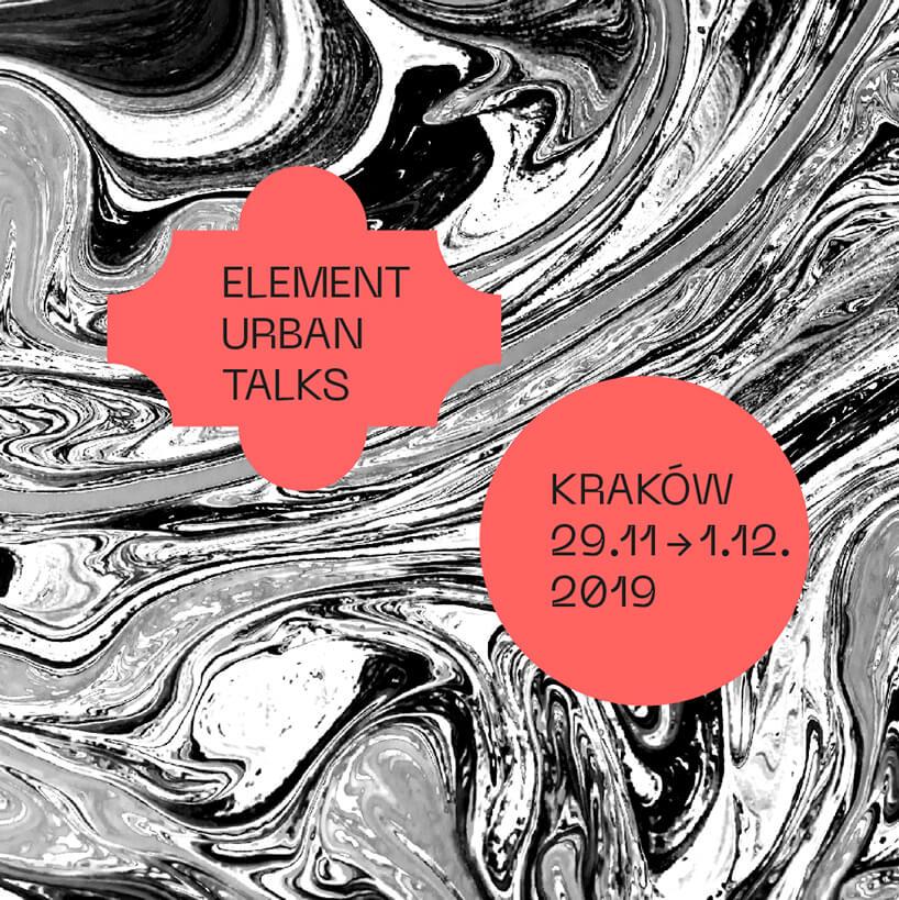 plakat element urban talks 3 edycja