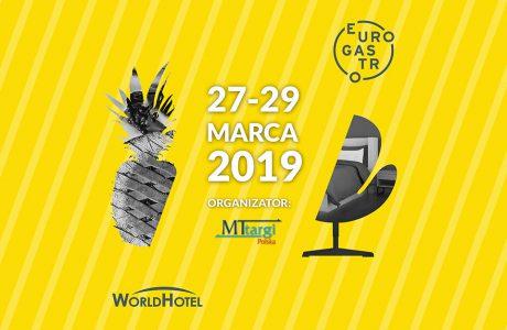 zaproszenie na EuroGastro i WorldHotel 2019