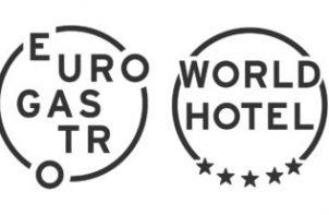 logotypy EuroGastro i WorldHotel 2020