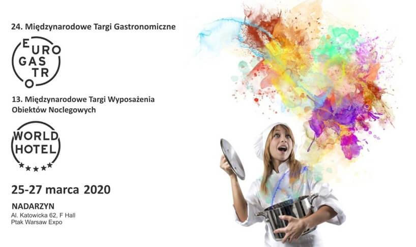 zaproszenie na Targi EuroGastro iWorldHotel 2020