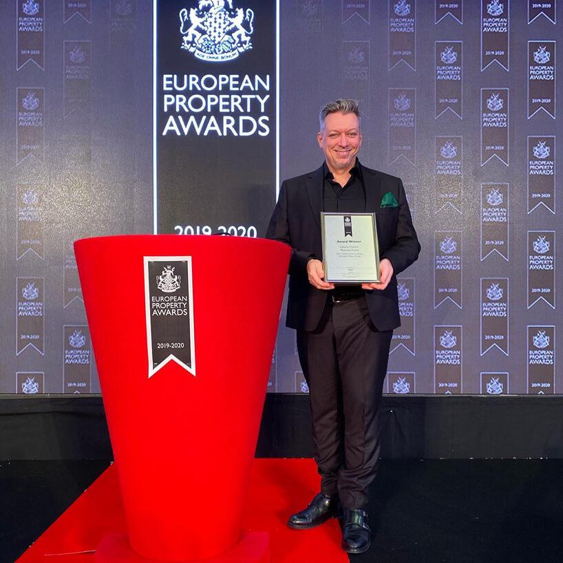 Robert Majkut znagrodą European Property Awards 2019/2020
