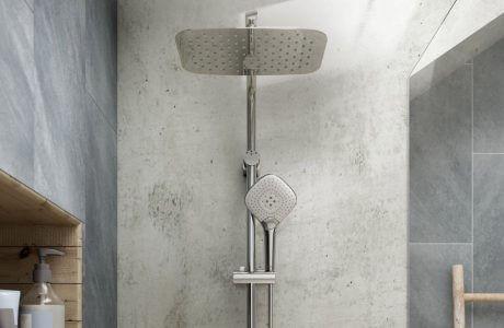 nowoczesna łazienka z kamieniem