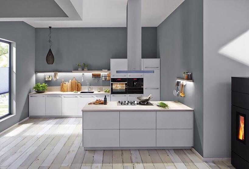nowoczesna otwarta kuchnia