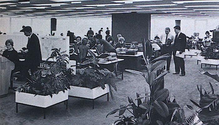 biuro wg koncepcji Bürolandschaft