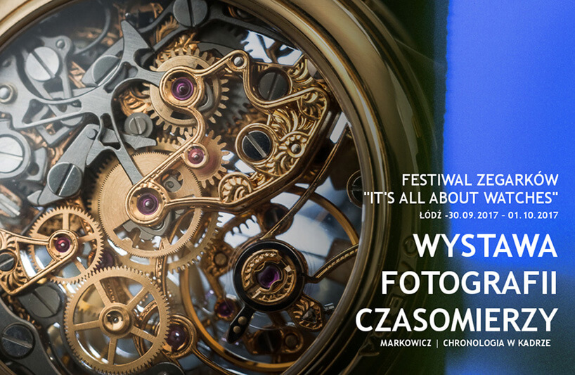 plakat festiwalu It's all about watches 2017