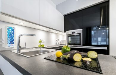 filtr do wody FITaqua w nowoczesnej kuchni