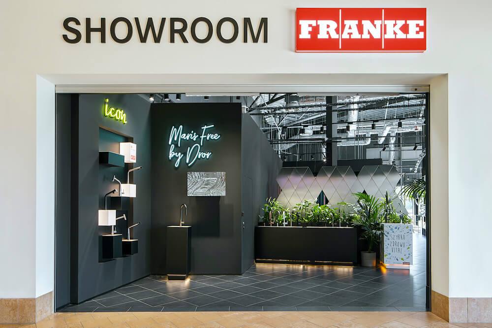 Firmowy Showroom Franke