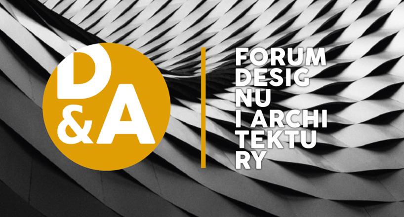 Forum Designu iArchitektury 2020 zaproszenie