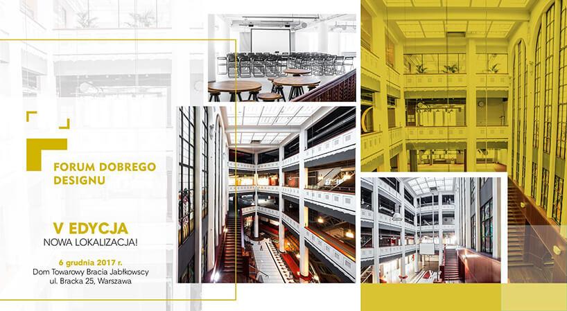 plakat Forum Dobrego Designu 2017