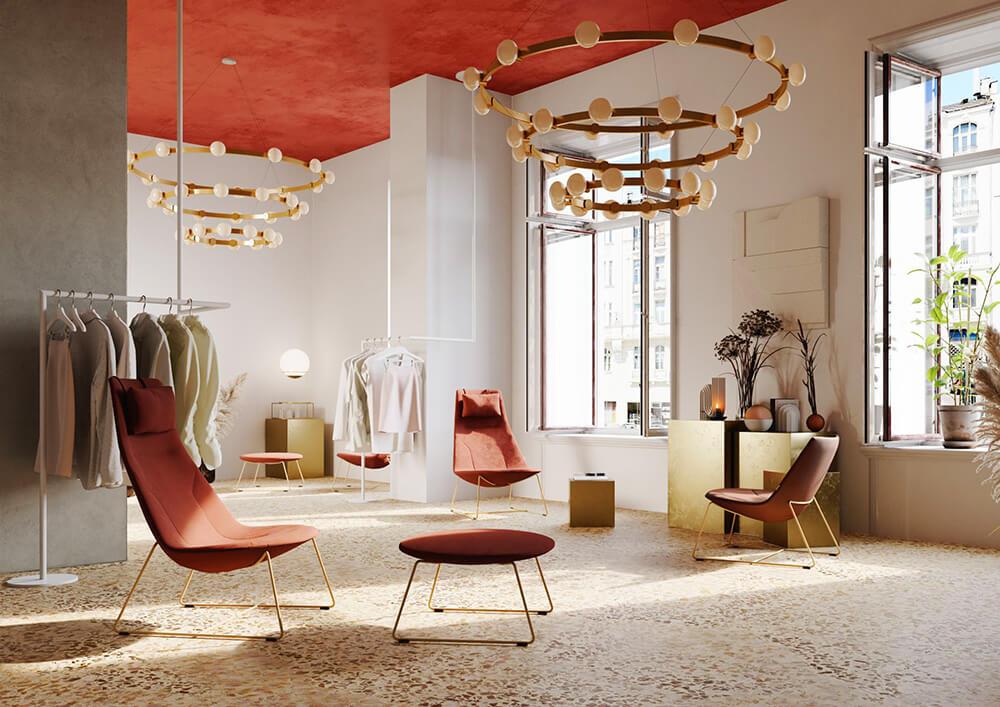 Fotel Chic Lounge od Profim: ikony designu