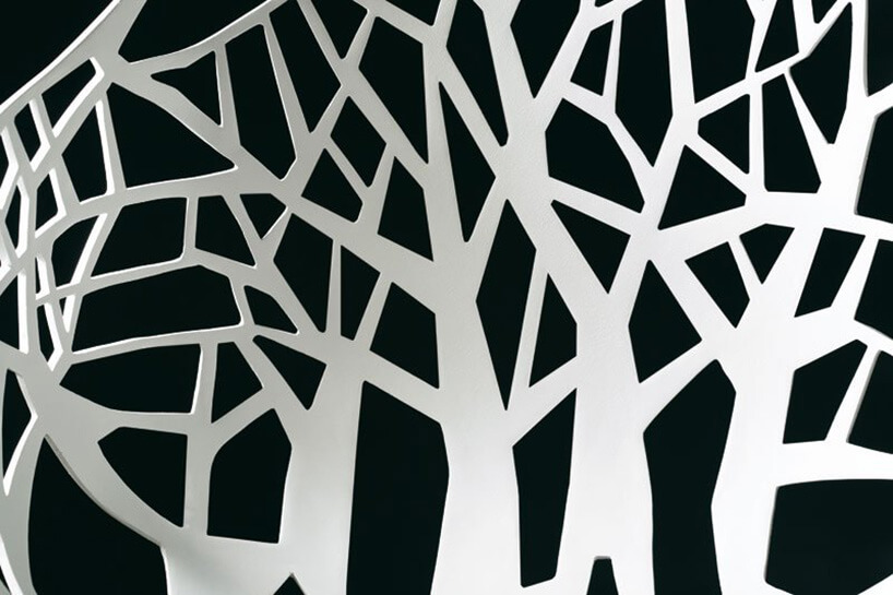 motyw drzewa na ścianie