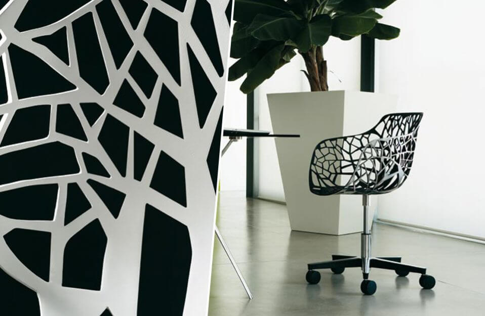 fotel wycinanka na kółkach