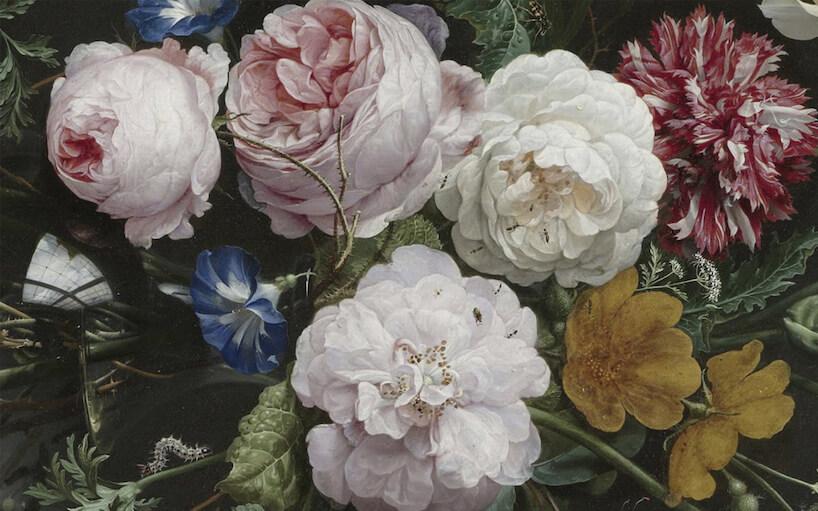 fototapeta zmotywem kwiatowym od Uwalls