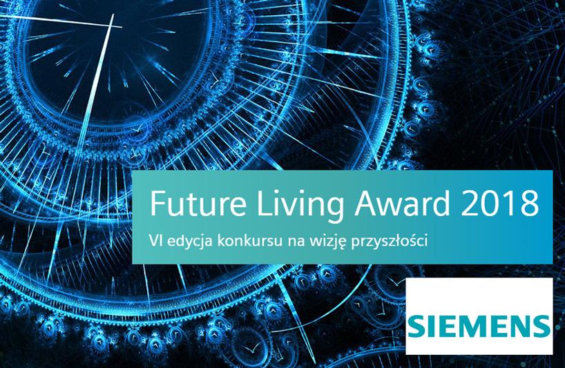 zaproszenie na galę Future Living Award 2018 Siemens