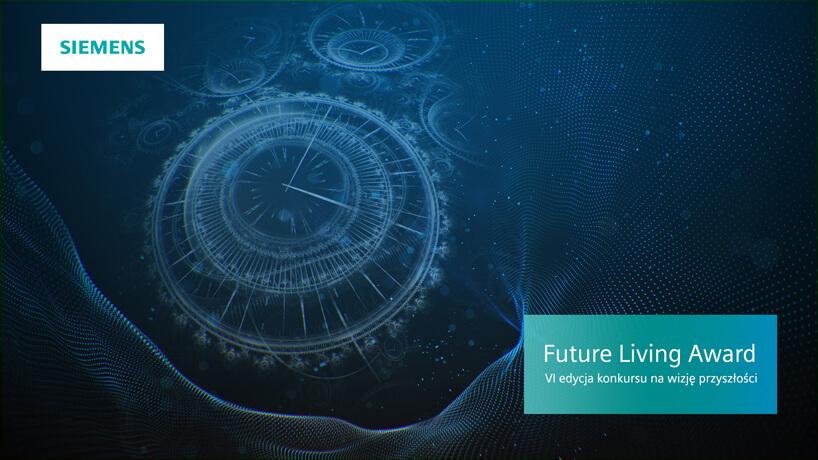 grafika promocyjna konkurs Siemens Future Living Award 2018