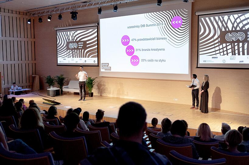 jedna zprezentacji na Gdynia Design Days 2019