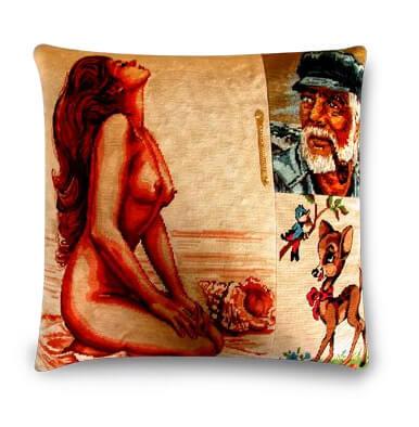poduszka zpostacią kobiecą