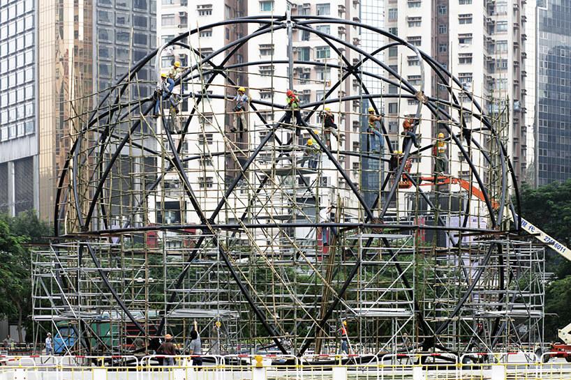 budowa metalowej kostrukcji