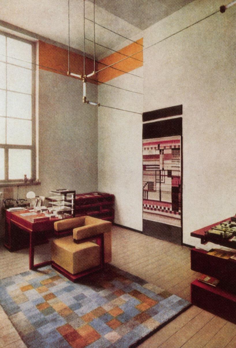 modernistyczny gabinet