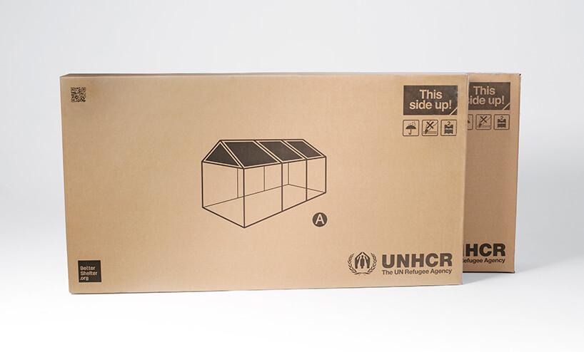 zapakowany kontener od Ikea
