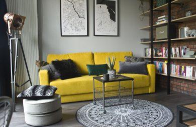 Małe mieszkanie, mały loft