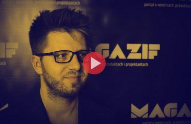 Artur Śleziak - Chors - podczas wywiadu dla MAGAZIF na Warsaw Home 2018